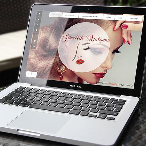 Güzellik Atölyem Web Sitesi