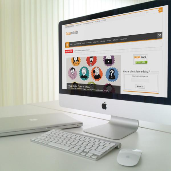 Sosyamobilite Web Site Tasarımı