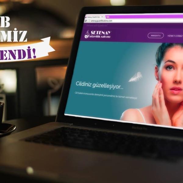 Setenay Güzellik Web Site Tasarımı & Sosyal Medya Yönetimi