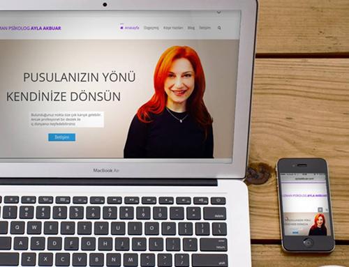 Psikolog Ayla Akbuar Web Site Tasarımı